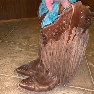 Corral Shoes - Women's Corral Fringe Boots